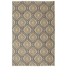 Picture of B286 Ogee Woven Rug