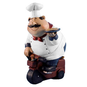 Picture of Jolly Chef with Pizza