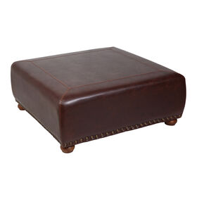 Picture of Brown Wax Ottoman