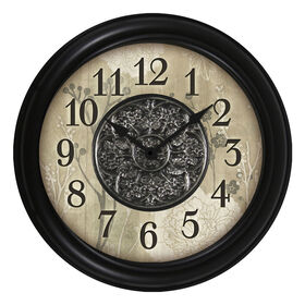 Picture of 16-in Floral Pattern Clock