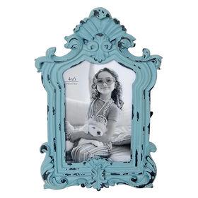 4 x 6 in egg blue vintage frame