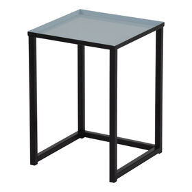 Picture of Nested Multi Color Square Table - Blue, Small