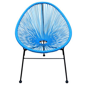 Picture of Wicker Egg Chair - Turquoise