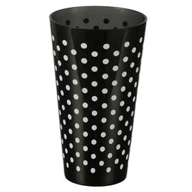 Picture of SIMPLY BLACK TUMBLER DOTS 20OZ