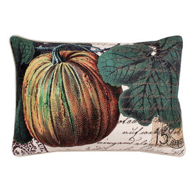 Picture of French Pumpkin Patch Pillow 16X20