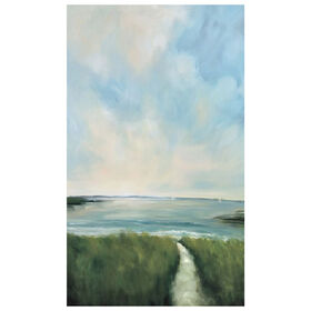 Picture of The Race Landscape Canvas Art- 36x60 in.