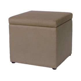 Picture of Baldwin Brown Ottoman with Storage