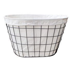 Picture of Grid Wire Laundry Basket Storage