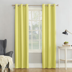 Picture of Citrine Maxwell Window Curtain Panel 95-in