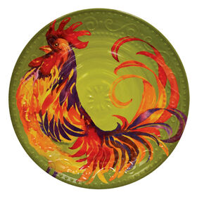 Picture of Rooster Siena Melamine Round Platter