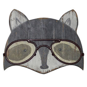 Picture of AWPB 10X12 FOX GLASSES PLQ