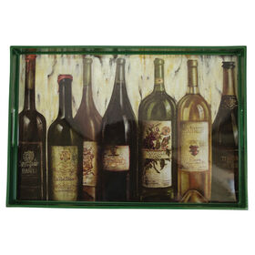 Picture of Rectangular Tray Wine Lineup
