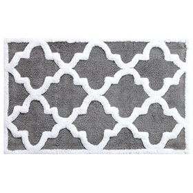 Picture of QUATREFOIL 2PC SET WHT/PEWTER