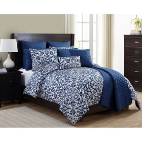 Picture of York 10 Piece Comforter Set King