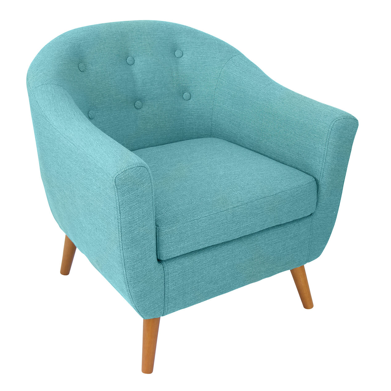 Aqua accent chair -  Rockwell Accent Chair Teal