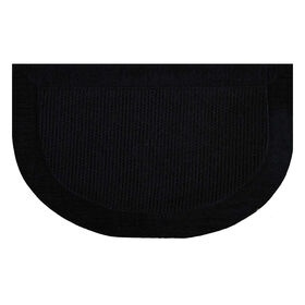 Picture of Black Braxton Slice Accent Rug- 20x32 in.