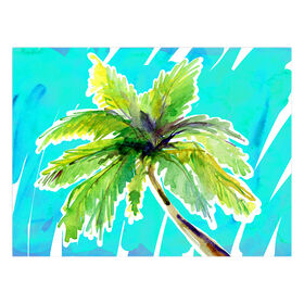 Picture of Palm Tree Canvas Wall Art- 14x18 in.