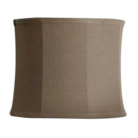 Picture of Brown Linen Lamp Shade 13X13X9.5-in