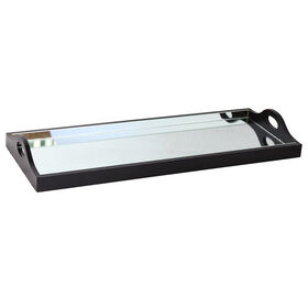 Picture of Large Nested Mirrored Tray - 23 X 9