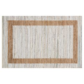 Picture of B312 Ivory Jute and Cotton Rug