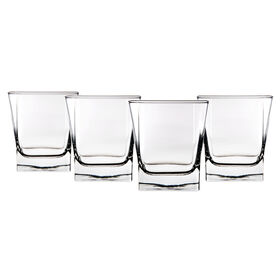 Picture of 10-oz Square Double Old Fashioned Glasses - Set of 4