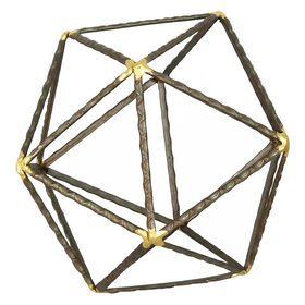 Picture of Hexagon Metal Decor - 9 in. Large