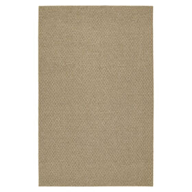 Picture of Solid Beige Town Square Accent Rug 17 X 27-in