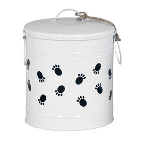 Picture of Large Paw Print Tine Canister - 9.2X12 in.