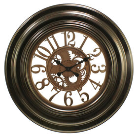 Picture of Bronze Gear Wall Clock