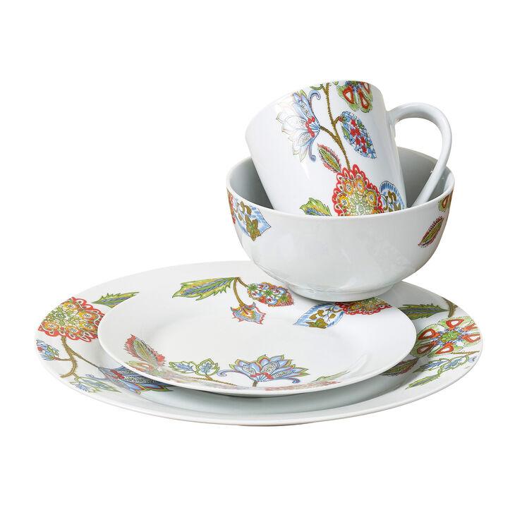 16-Piece Alani Dinnerware Set, Multi