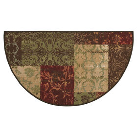 Picture of Erin Damask Block Slice Accent Rug 26 X 45-in