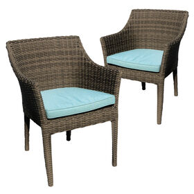 Laguna Set of 2 Stack Dining Chairs