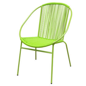 Picture of Wicker Round Chair - Lime