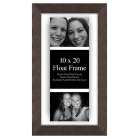 Picture of 10 X 10-in/ 4 X 6-in Gray Float Frame