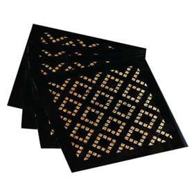 Picture of Diamond Gold Coaster, Set of 4