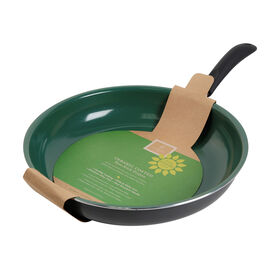 Picture of Gibson Home 10-in Fry Pan - Green and Matte Gray