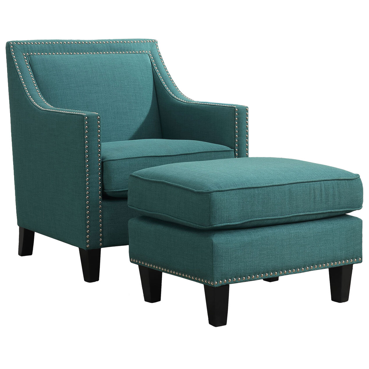 erica chair - teal - at home