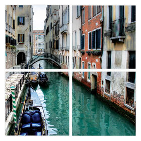 Picture of 30 X 30-in Venice Quad Gallery Art