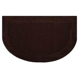 Picture of Brown Braxton Slice Accent Rug- 20x32 in