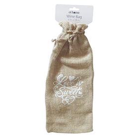 Picture of 6X14 WINE BAG LV/SWT BURLAP