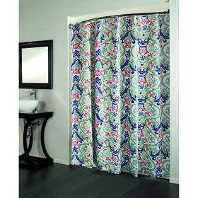 Picture of Grenada Multicolored Shower Curtain