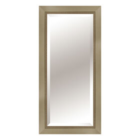 Picture of 24 X 60-in Champagne Beaded Mirror