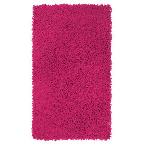 Picture of Pink Shag Accent Rug 24 X 43-in