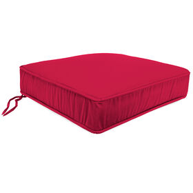 Picture of Pompeii Red Single Deep Seat Cushion