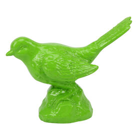Picture of Green Resin Bird 3.4 in.