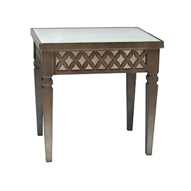 Picture of Nested Mirror Diamon Side Table - Medium