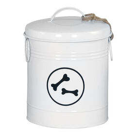 Picture of White Bones Tin Canister- 8 x 10.5-in