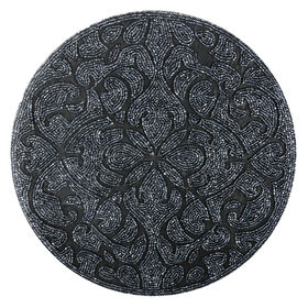 Picture of 14-in. Round Beaded Charger, Steel