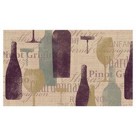 Picture of Wine Tasting Doormat 17 X 27-in