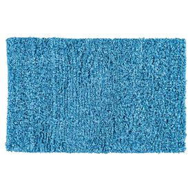 Picture of Turquoise Shiny Fur Shag Rug 3 X 5 ft